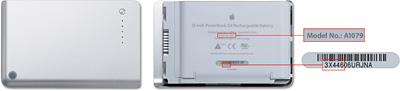 Programa de sustitución de baterías del iBook G4 y PowerBook G4 4
