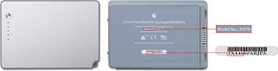 Programa de sustitución de baterías del iBook G4 y PowerBook G4 5