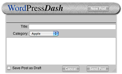 Ya puedes publicar en tu blog de WordPress desde un Widget 4