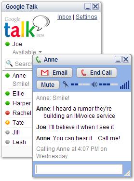 Conectate a Google Talk con iChat o cualquier otro cliente Jabber 7