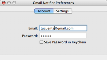 Google acaba de anunciar Gmail Notifier para Mac OS X, descargalo ya 1