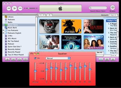 Si no te gusta la nueva imagen de iTunes 5, cambiasela a tu gusto 3