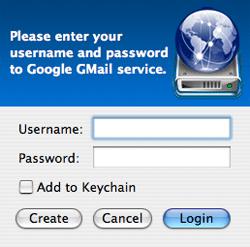 Utiliza tu cuenta de gMail como disco duro en tu computadora y Mac OS X 3