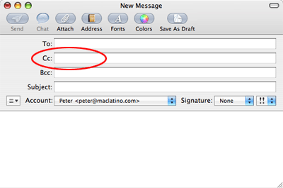 No se pueden enviar emails a Hotmail desde la Mail.app de Mac OS X 3