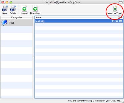 Utiliza tu cuenta de gMail como disco duro en tu computadora y Mac OS X 14