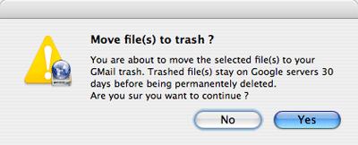 Utiliza tu cuenta de gMail como disco duro en tu computadora y Mac OS X 15