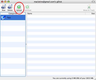 Utiliza tu cuenta de gMail como disco duro en tu computadora y Mac OS X 9