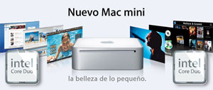 Apple presenta el nuevo Mac mini con procesador Intel 1