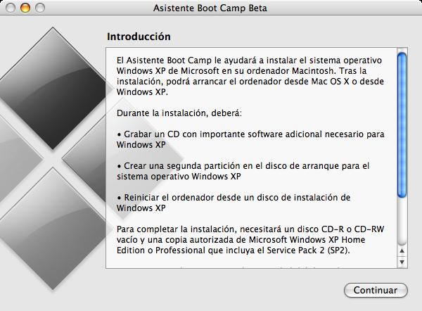 Como instalar Windows XP en las Mac con procesador Intel siguiendo algunos pasos 17