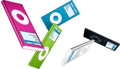 Apple presenta el iPod nano de segunda generación 8