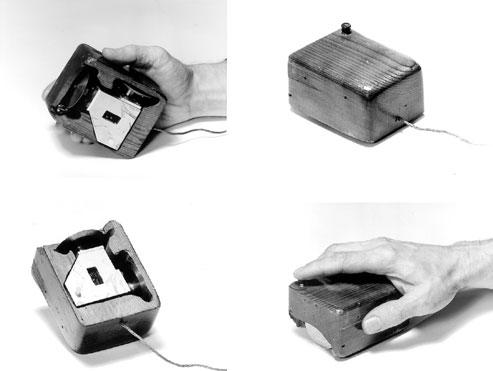 Patente y fotografías del primer mouse 1