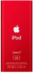 Apple anuncia el iPod nano (PRODUCT) RED Special Edition 1