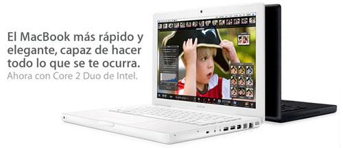 Apple presenta las nuevas MacBooks Core 2 Duo 1