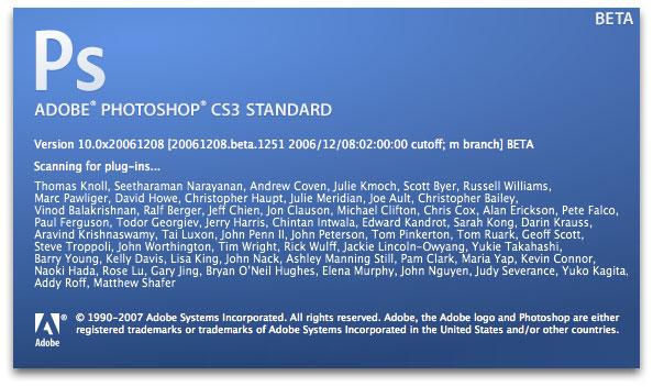 Ya puedes descargar Adobe Photoshop CS3 beta 16