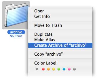 Guia de usar archivos, instalar programas y descomprimir archivos en Mac OS X 27