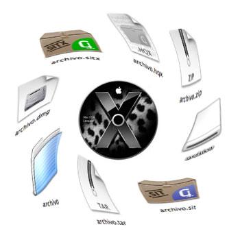 Guia de usar archivos, instalar programas y descomprimir archivos en Mac OS X 2