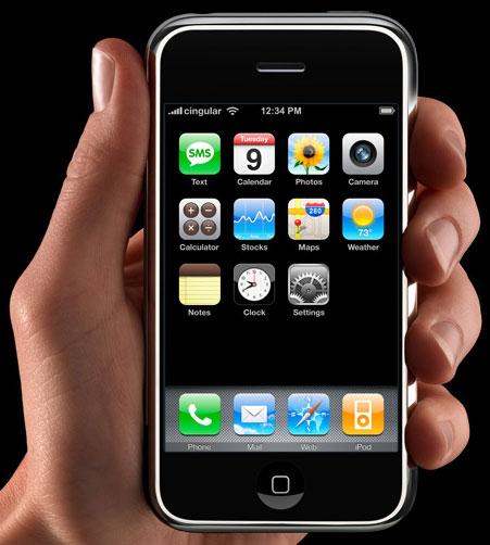 Apple iPhone, el nuevo teléfono móvil de Apple - Macworld 2007 1