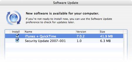QuickTime para Java Update 1