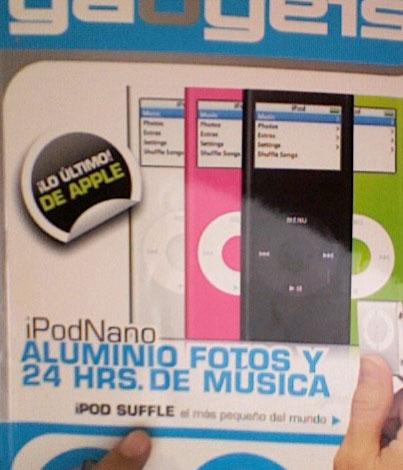 Revista de Gadgets en México presenta nuevos iPods Suffle para los hambrientos 2