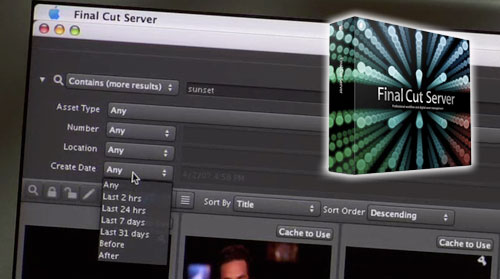Apple presenta Final Cut Server 9