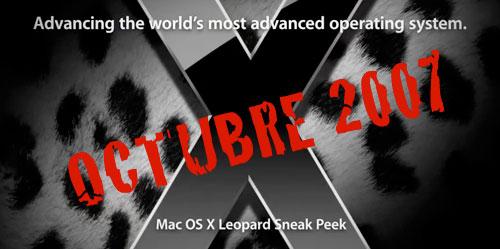 Apple muestra un avance del futuro sistema servidor Mac OS X Server Leopard 4