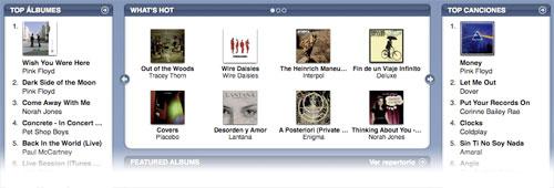 Canciones libres de DRM y con mayor calidad, disponibles en la iTunes Store con iTunes Plus 1
