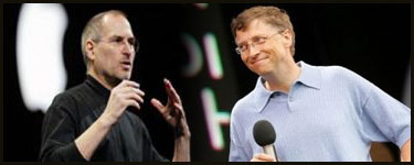 Ya puedes descargar en audio o video la entrevista de Steve Jobs y Bill Gates 9