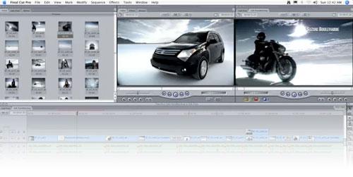 Final Cut Pro HD 4.5 2