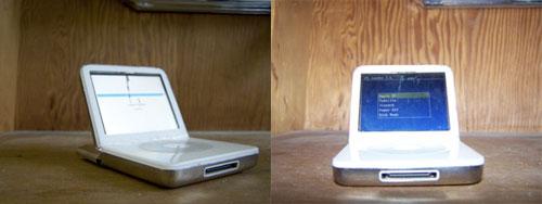 iPod Book, iPook, Macpod o iTop es el iPod al estilo MacBook o Laptop 1