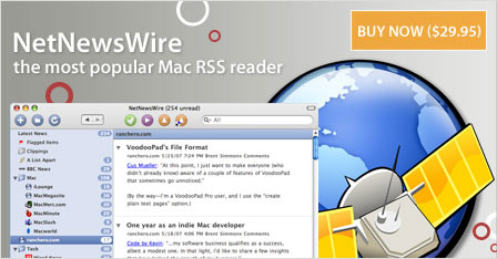 NetNewsWire 3.1.7b1 el lector de feeds RSS disponible para descargar 2