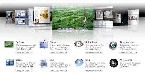 Apple muestra un avance del futuro sistema servidor Mac OS X Server Leopard 3