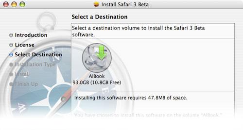 Ya puedes descargar el navegador Safari 3 para Mac OS X y para Windows 1