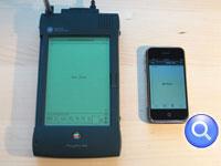 Fotografías del Newton contra el iPhone y el tamaño si importa 1