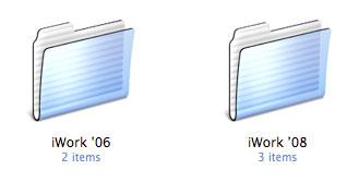 Imágenes de la instalación paso a paso de iWork '08 con Keynote, Numbers y Pages 15