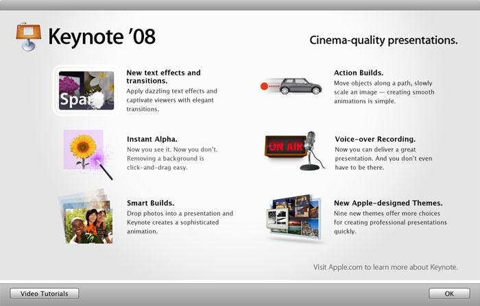 Imágenes de la instalación paso a paso de iWork '08 con Keynote, Numbers y Pages 25