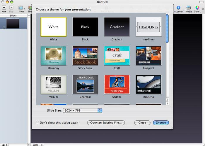 Imágenes de la instalación paso a paso de iWork '08 con Keynote, Numbers y Pages 26