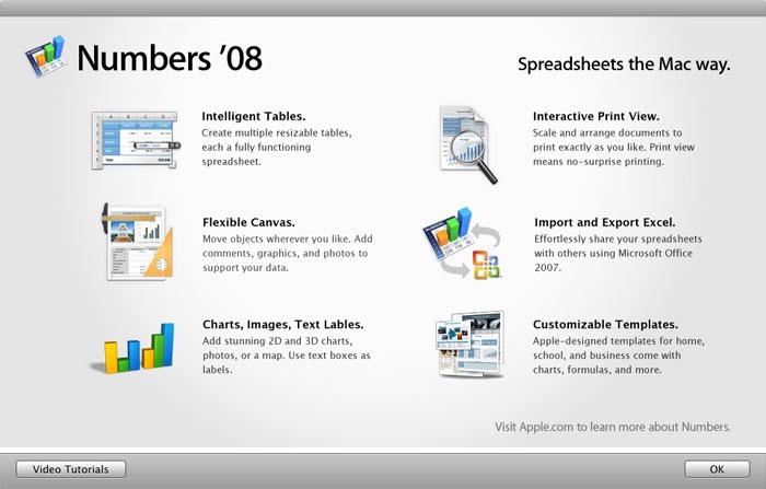 Imágenes de la instalación paso a paso de iWork '08 con Keynote, Numbers y Pages 28