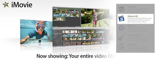 Ya puedes descargar iMovie HD 6.0.1 1
