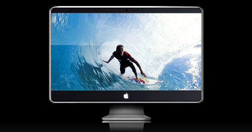Como hacer una iMac en Photoshop desde cero 1