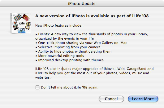 Apple hoy publica iPhoto 5.0.4, ya disponible para descargar 6