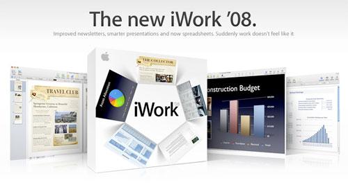 Apple presenta el nuevo iWork '08 1