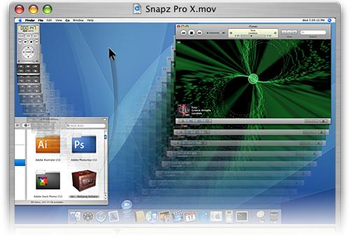 Graba lo que pasa en tu pantalla en Mac OS X con Snapz Pro X 2.1.1 1