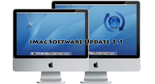 Actualización para las nuevas iMacs con el iMac Software Update 1.1 1