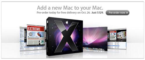 Drivers de impresoras incluidos en Mac OS X 10.5 Leopard 3