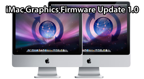 Actualización para las nuevas iMacs con el iMac Software Update 1.1 6