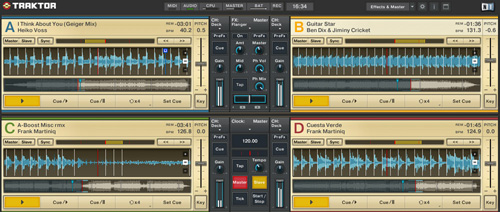 Djs, ya esta disponible para descargar el TRAKTOR DJ Studio 3.3 para Mac OS X y Windows 1