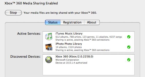 Escuchar música, ver videos y fotografías en el Xbox 360 con Connect360 3.2.3 1