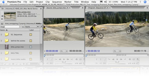 Sound Edit 16 para Mac OS X es el Adobe Soundbooth Beta 1