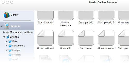 Nokia Media Transfer 1.2 para Mac OS X 1
