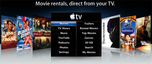Renta de películas en internet desde iTunes 1